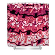 Incan Pattern Shower Curtain