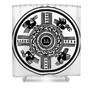 Incan Universe Shower Curtain