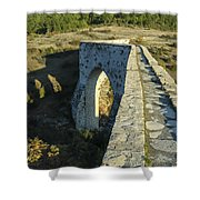 Incekaya Aqueduct Shower Curtain