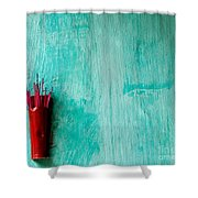 Incense 05 Shower Curtain