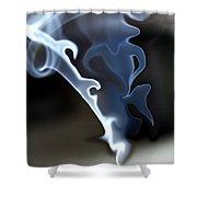 Incense Smoke Dance - Smoke - Dance Shower Curtain