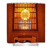 Incredible Art Nouveau Antique Grand Central Station - New York Shower Curtain