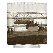 Incredible Hanging Railway  1900 Shower Curtain