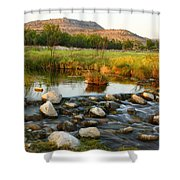 Independence Creek Preserve 2am-106000 Shower Curtain