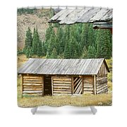 Independence Ghost Town Shower Curtain