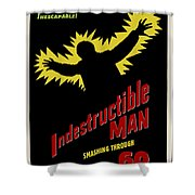 Indestructible Birthday Card Shower Curtain