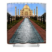 India 5 Shower Curtain