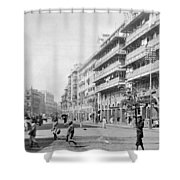 India Bombay Shower Curtain