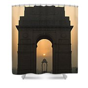India Gate, Delhi Shower Curtain