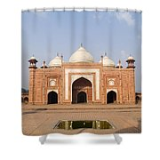 India, Next To Taj Mahal Agra, Taj Shower Curtain