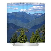 Indian Arm Shower Curtain