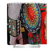 Indian Art Shower Curtain
