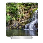 Indian Brook Falls Shower Curtain