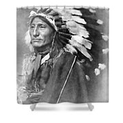 Indian Chief - 1902 Shower Curtain