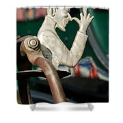 Indian  Chopper Ornament 2 Shower Curtain