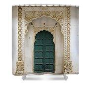 Indian Doorway Shower Curtain