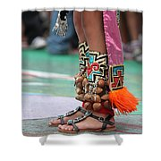 Indian Feet Shower Curtain