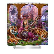 Indian Harmony Shower Curtain