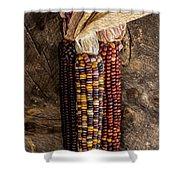 Indian Harvest Corn Shower Curtain