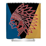 Indian Head Series 01 Shower Curtain