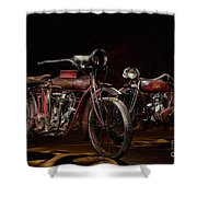 Indian Hedstrom And Powerplus Shower Curtain