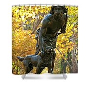 Indian Hunter Shower Curtain