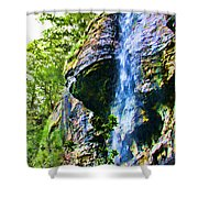 Indian Ladder Falls 2 Shower Curtain