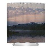 Indian Lake Shower Curtain