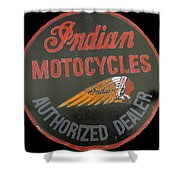 Indian Motocycle Dealer Shower Curtain