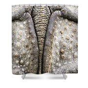 Indian Rhinoceros Tail Shower Curtain