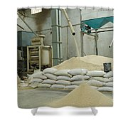 Indian Rice Mill Shower Curtain