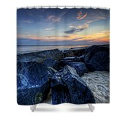 Indian River Inlet Shower Curtain