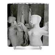 Indian Sculpture Shower Curtain