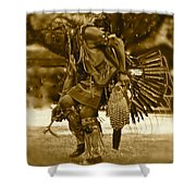 Indian Spirit Shower Curtain