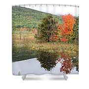 Indian Summer Acadia Park Shower Curtain