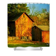 Indian Summer In October Shower Curtain