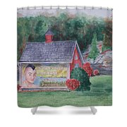 Indian Valley Farm Shower Curtain