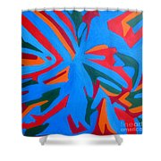 Indian Wind Shower Curtain