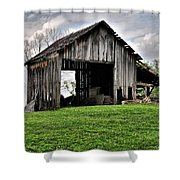 Indiana Barn Shower Curtain