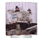 Indiana Harbor 1  Shower Curtain