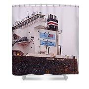 Indiana Harbor 2  Shower Curtain
