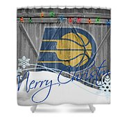 Indiana Pacers Shower Curtain