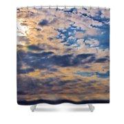 Indiana Sky Shower Curtain