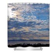 Indiana Sunrise Shower Curtain