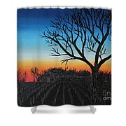 Indiana Sunset Shower Curtain