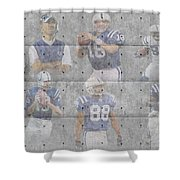 Indianapolis Colts Legends Shower Curtain