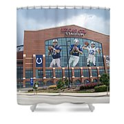 Indianapolis Colts Lucas Oil Stadium Shower Curtain