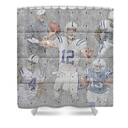 Indianapolis Colts Team Shower Curtain