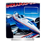 Indianapolis Shower Curtain
