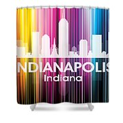 Indianapolis In 2 Shower Curtain